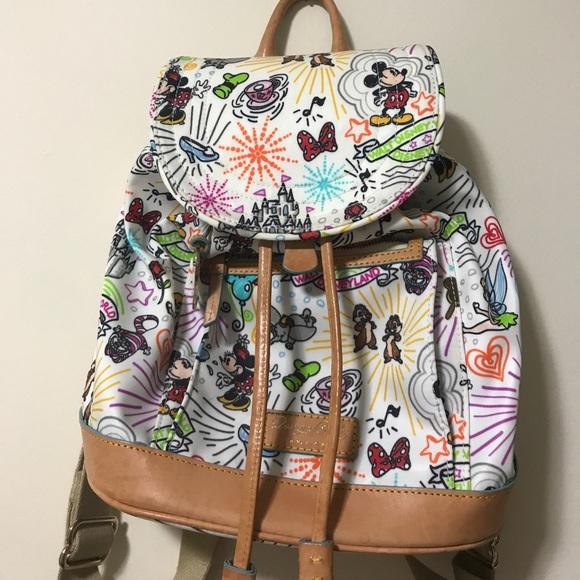 573604081d Dooney   Bourke Handbags - Disney Dooney   Bourke Nylon Sketch Backpack